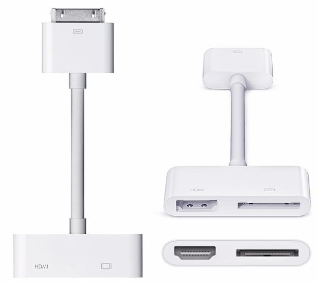 Apple Digital AV Adapter для iPad 2/iPad/iPhone/iPod