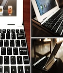 Aluminium KeyBoard Buddy Case чехол-клавиатура для iPad 2