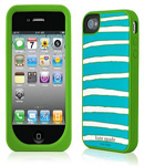Kate Spade Premium Silicone Case for iPhone 4 (Style 01986-0)