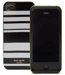 Kate Spade Premium HardShell Fairmont Stripe Case for iPhone 4 (Style 01685-0)