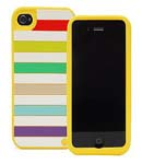 Kate Spade Premium Silicone Jubilee Case for iPhone 4 (Style 01963-0)