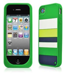 Kate Spade Premium Silicone Land and Sea Case for iPhone 4 (Style 01994-0)