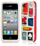 Kate Spade Premium HardShell Matchbook Case for iPhone 4 (Style 02019-0)