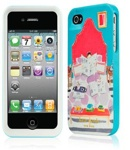 Kate Spade Premium HardShell News in Bed Case for iPhone 4 (Style 02018-0)